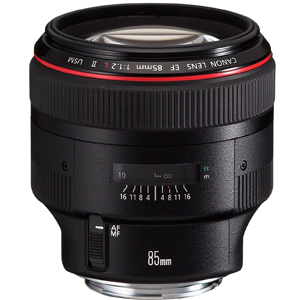 canon lens 85mm 1.2